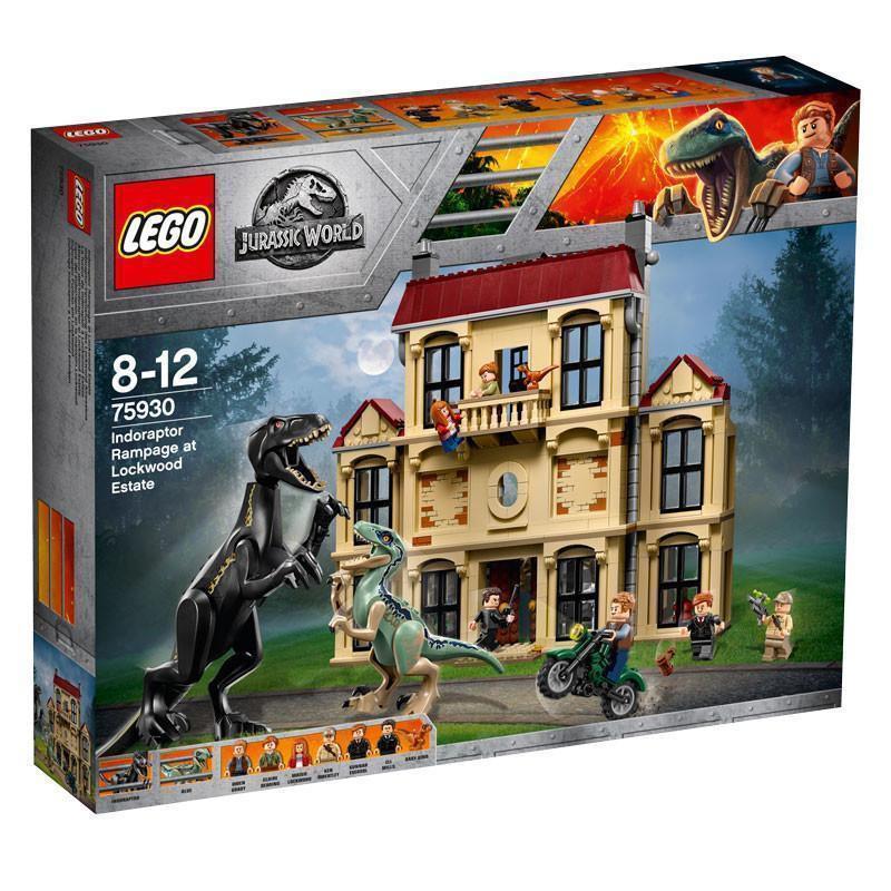 [玩樂高手附發票] 樂高 LEGO 75930 Indoraptor Rampage at Lockwood