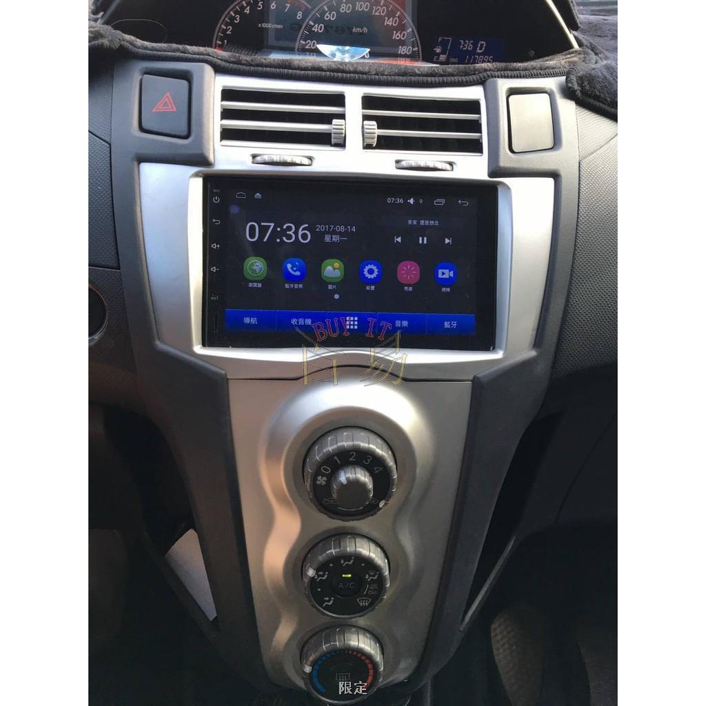 豐田/TOYOTA YARIS 7吋汽車音響安卓主機 觸控螢幕 衛星導航2021