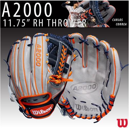 Wilson A2000 棒球手套 壘球手套 CC1 Carlos Correa 使用款 太空人 11.75吋 內野手套