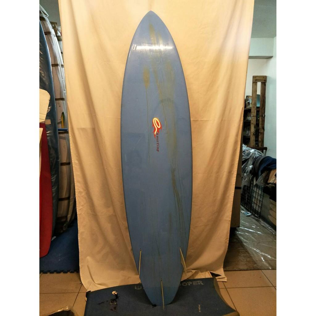 7尺3 衝浪板 esurfing 槍板 中古板 二手