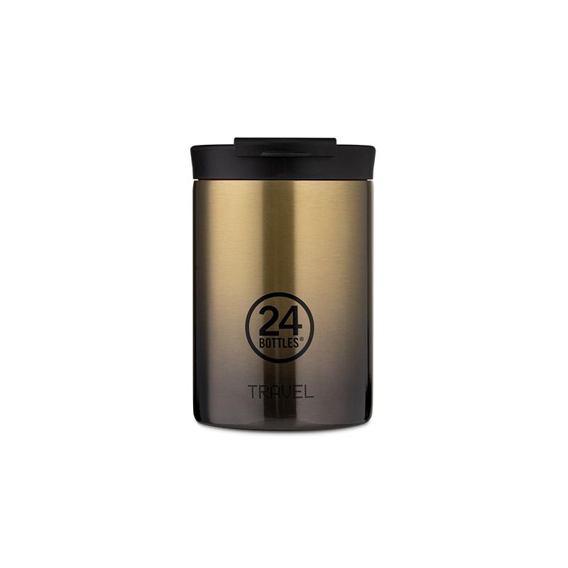 【24Bottles 城市水瓶】保溫隨行杯 350ml/玫瑰金