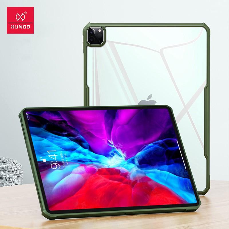 """適用於iPad Pro 12.9"""" / 11"""" 2020平板電腦保護殼XUNDD豪華安全氣囊防震保護透明後殼"""