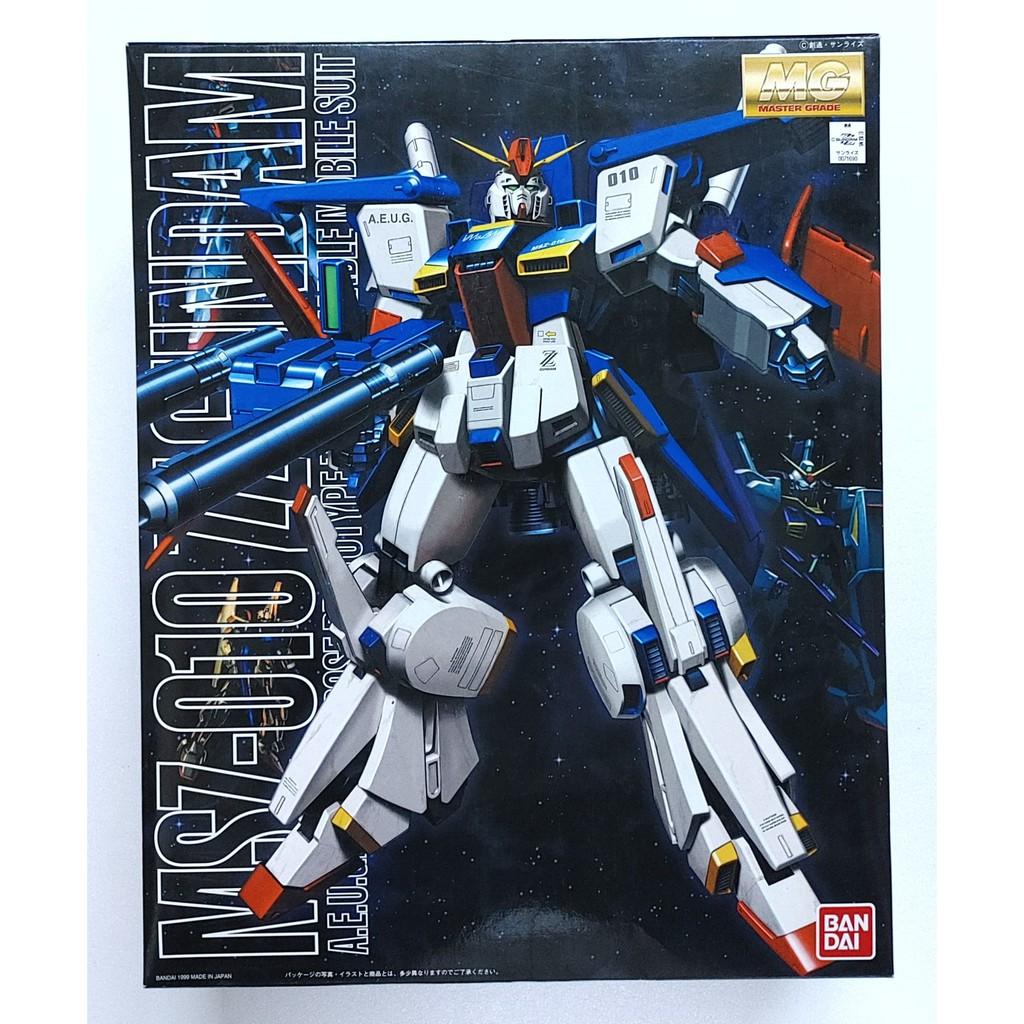 BANDAI MG 1/100 MSZ-010 ZZ鋼彈