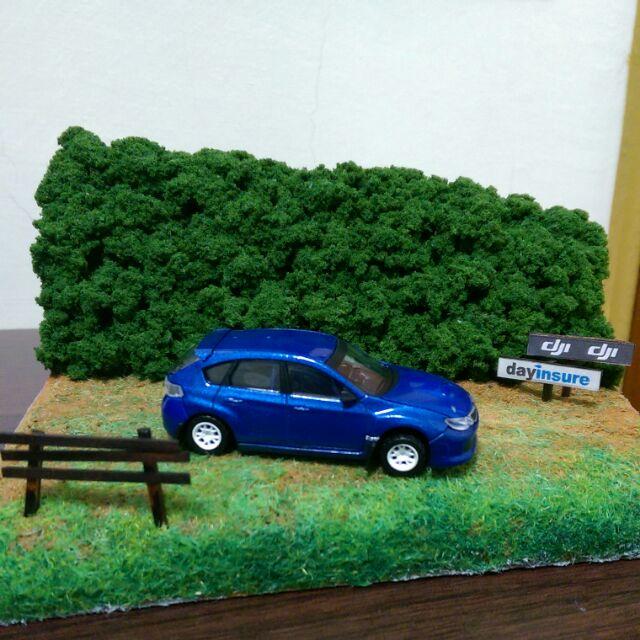 日本代購 CM's 1/64 Subaru Impreza sti GRB (限定版)