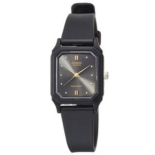 【CASIO】方形復古淑女腕錶-黑曜石 (LQ-142E-1A)正版宏崑公司貨 新北市