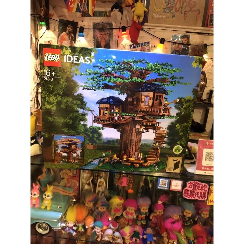 全新未拆 樂高LEGO 21318 樹屋 ideas