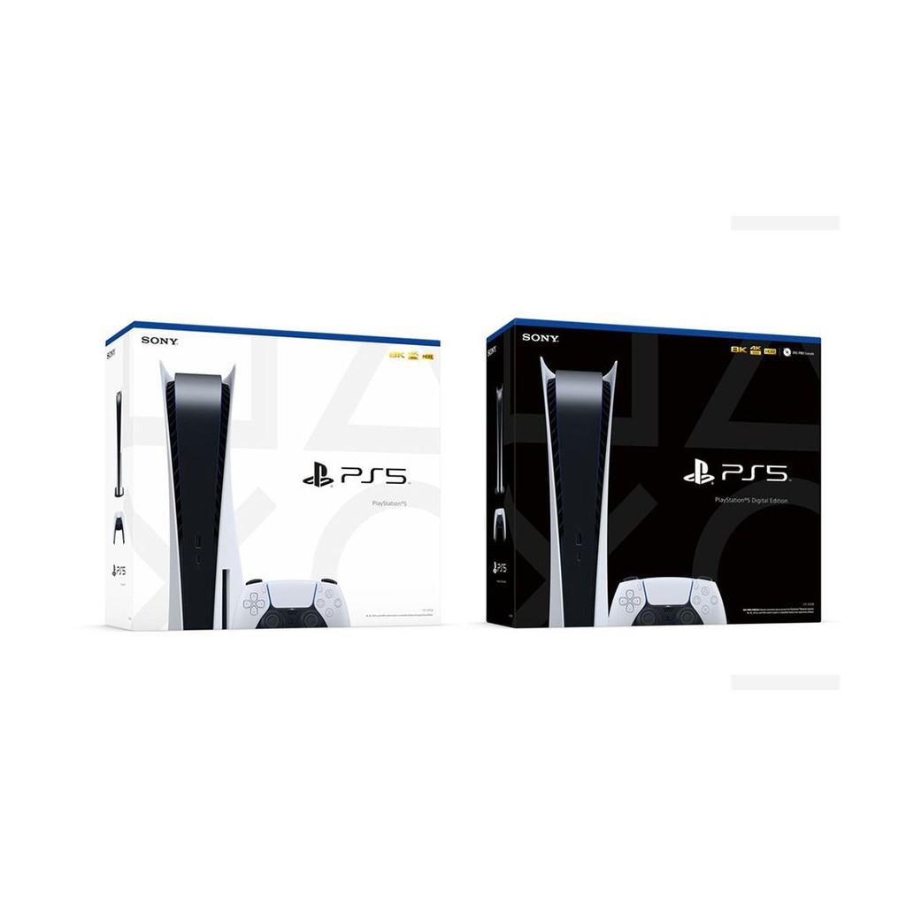 PS5主機 台灣專用機 光碟機版 / 數位版 825GB SSD 白色款 【魔力電玩】