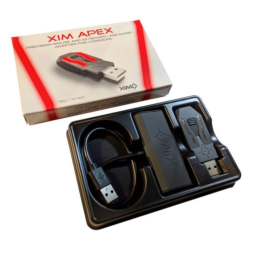 現貨XIM4 APEX Xbox one X/PS4 PRO 鍵鼠遊戲手柄轉換器 戰地五 吃雞
