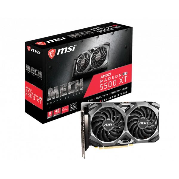【鈺盛】MSI 微星 Radeon RX 5500 XT MECH 8G OC 顯示卡