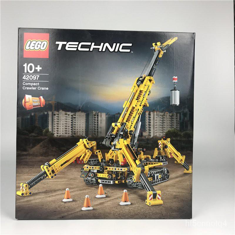 正品 LEGO樂高 機械組 42097蜘蛛履帶起重機 塑料積木