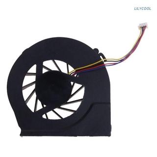 LILY* 風扇筆記本電腦CPU散熱器4針電腦更換5V 0.5A的惠普Pavilion G4-2000 G6-2000