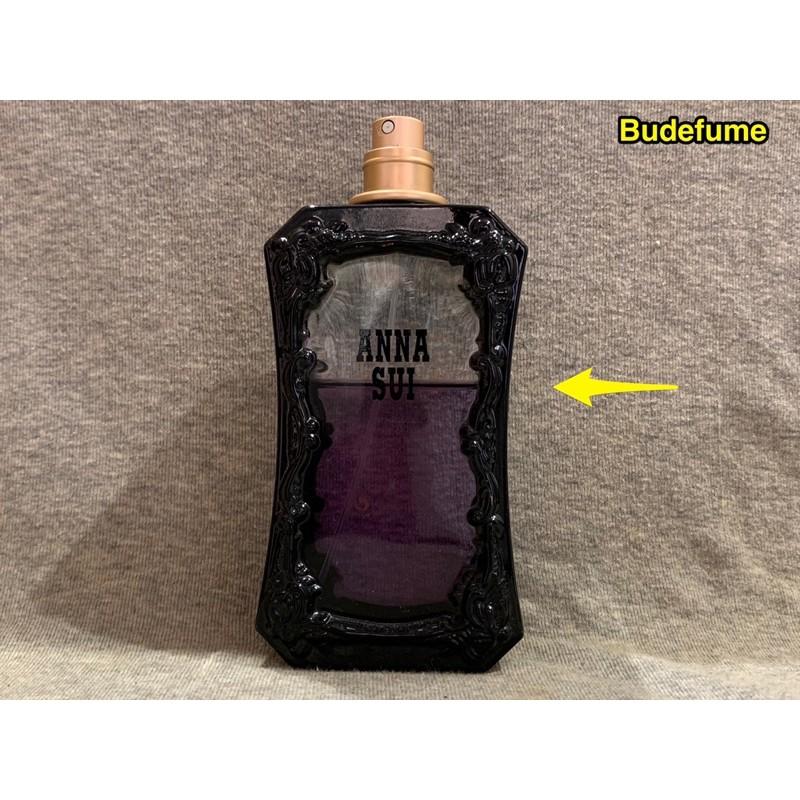 《二手》Anna Sui 安娜蘇紫色同名女性淡香水tester