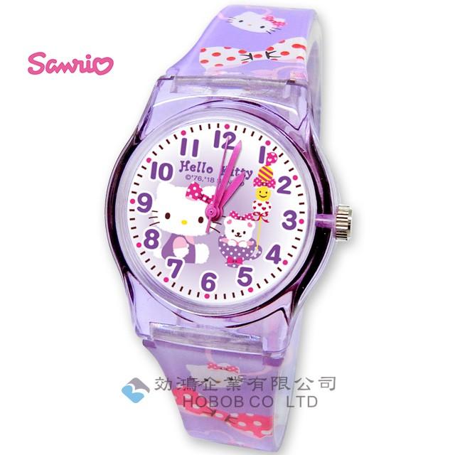 hello kitty 原裝兒童手錶 休閒膠手錶 _28mm