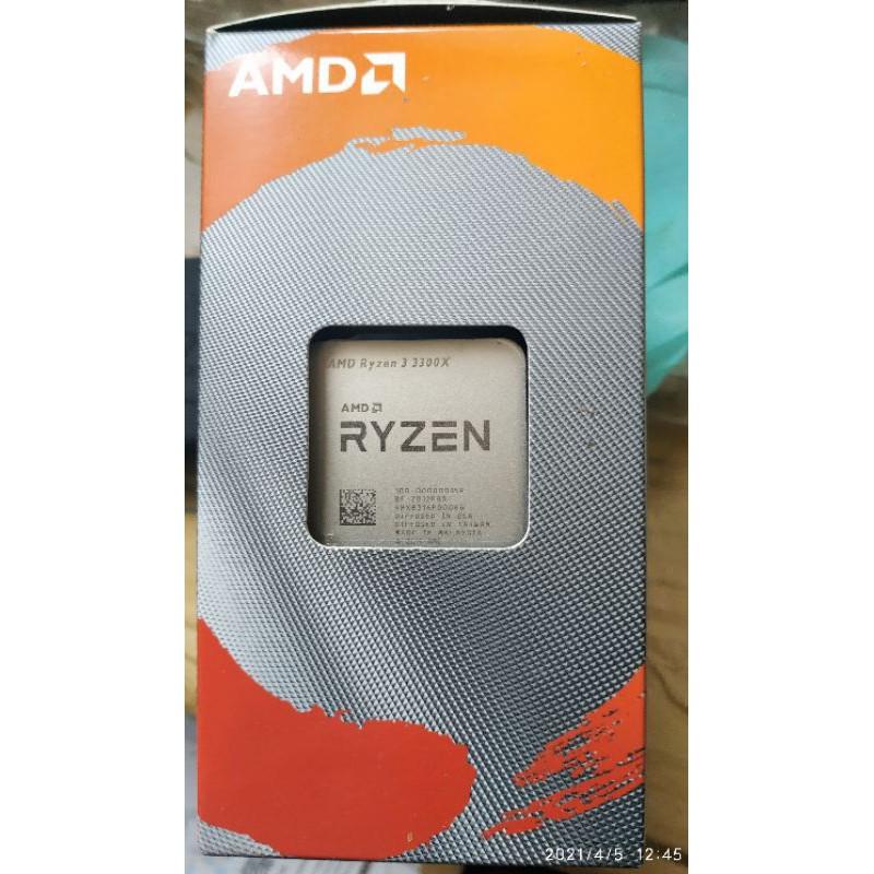 全新未拆 amd R3 3300X Ryzen™3 3300x