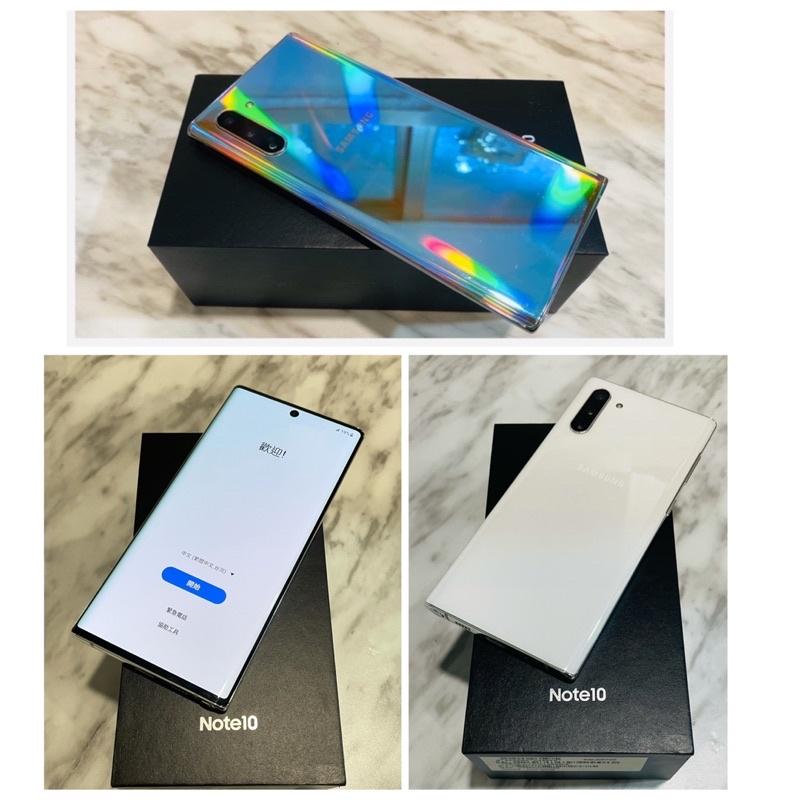 🦋8/25更新!降價嘍🦋 二手機台灣版Samsung Note10 (N9700雙卡雙待 6.3吋 256G Spen)
