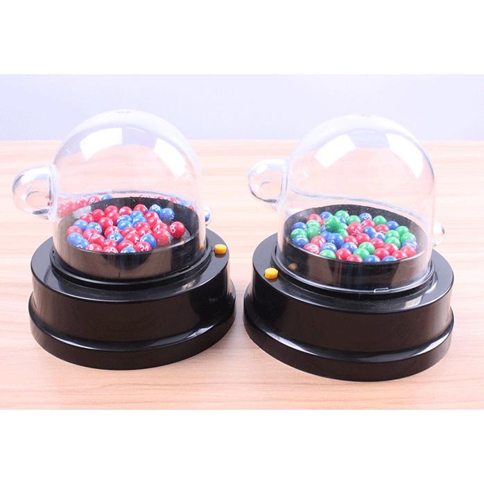 新品#熱銷#電動搖搖樂轉盤六合彩大樂透抽籤彩票號碼雙色球搖獎機模擬選號器