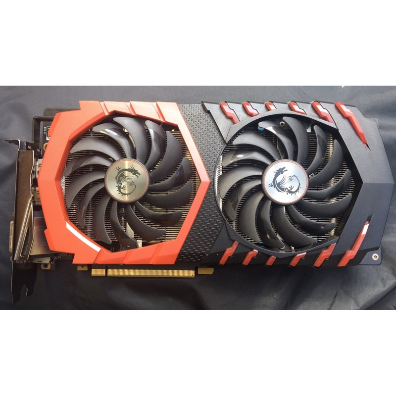 gtx1060 6g msi gaming x plus 紅龍