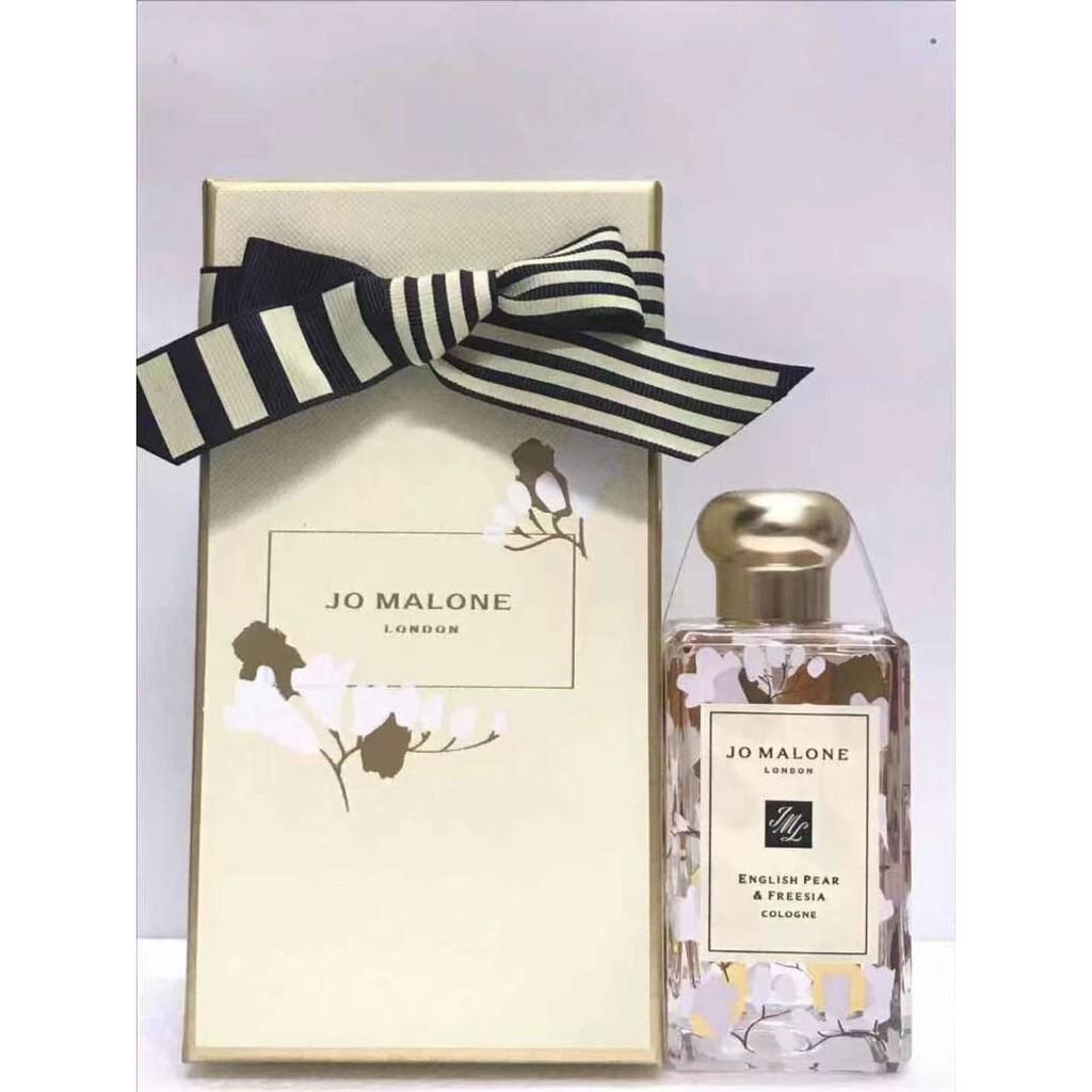 英國免稅店購入附購買證明禮品袋JO Malone 祖馬龍21年新年限定香水英國梨與小蒼蘭