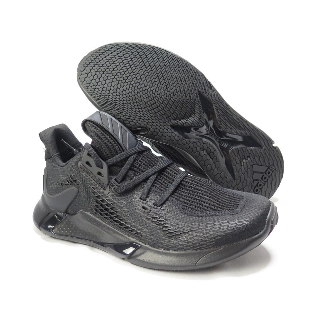 ADIDAS EDGE XT 男款 慢跑鞋 輕量透氣  EG9704 全黑【iSport愛運動】