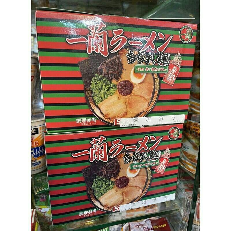 一蘭拉麵 #大貨台日韓#  日本  一蘭拉麵 /一蘭細麵  泡麵132gx5包