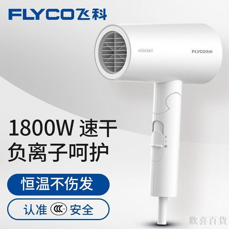 飛科 FLYCO 電吹風機負離子功能磁吸集風嘴FH6276 1800W歡喜百貨