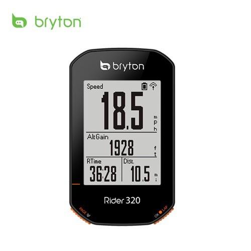 Bryton Rider 320E/320T GPS無線自行車記錄器(碼錶)