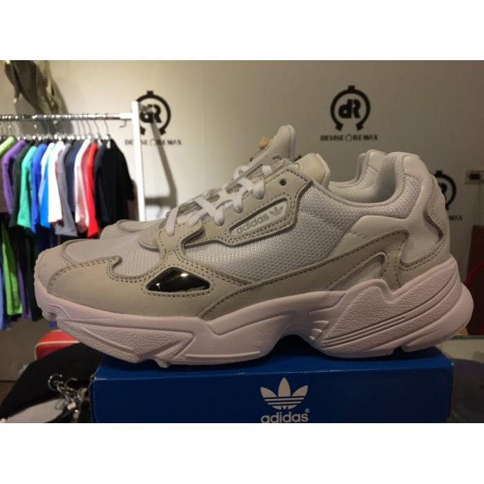 ADIDAS ORIGINALS FALCON 白灰 復古 增高 厚底 老爹鞋 女鞋 B28128