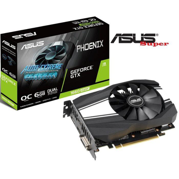 預購】全新 ASUS 華碩 PH GTX1660S O6G 顯示卡 SUPER 電競 DDR6 超頻【公司貨 蘆洲硬客