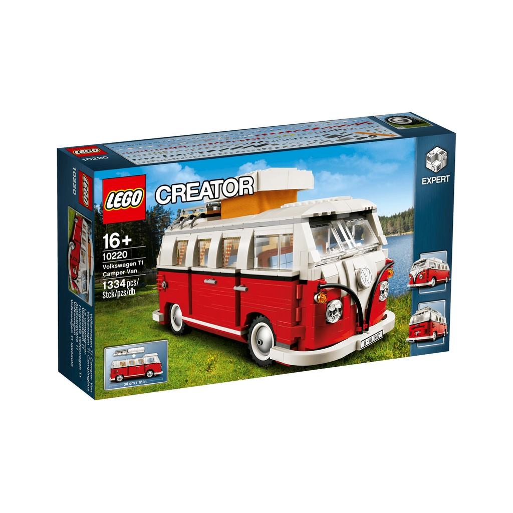 【宅媽科學玩具】樂高LEGO 10220 福斯露營車