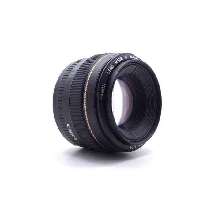 【台中青蘋果】Canon EF 50mm f1.4 USM 二手 定焦鏡 單眼鏡頭 #52889