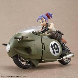 (麥多玩具精品)【現貨】七龍珠 布馬摩托車 BANDAI Figure-rise Mechanics 布瑪的可變式