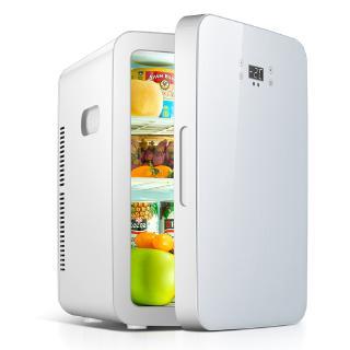 冰箱 迷你冰箱 小冰箱 愛普25L車載迷你小冰箱兩用小型家用租房用冷藏箱宿舍單人微型 冷藏箱 電冰箱 新北市