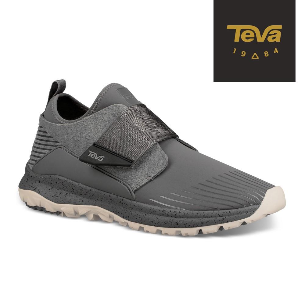 【TEVA】男 Peralta 中筒戶外休旅鞋/休閒鞋-炭灰色 (原廠現貨)