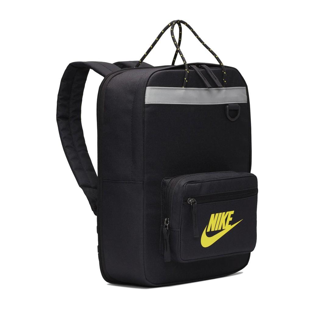 Nike 後背包 Tanjun Backpack 黑 黃 男女款 運動休閒 BA5927-080 【ACS】