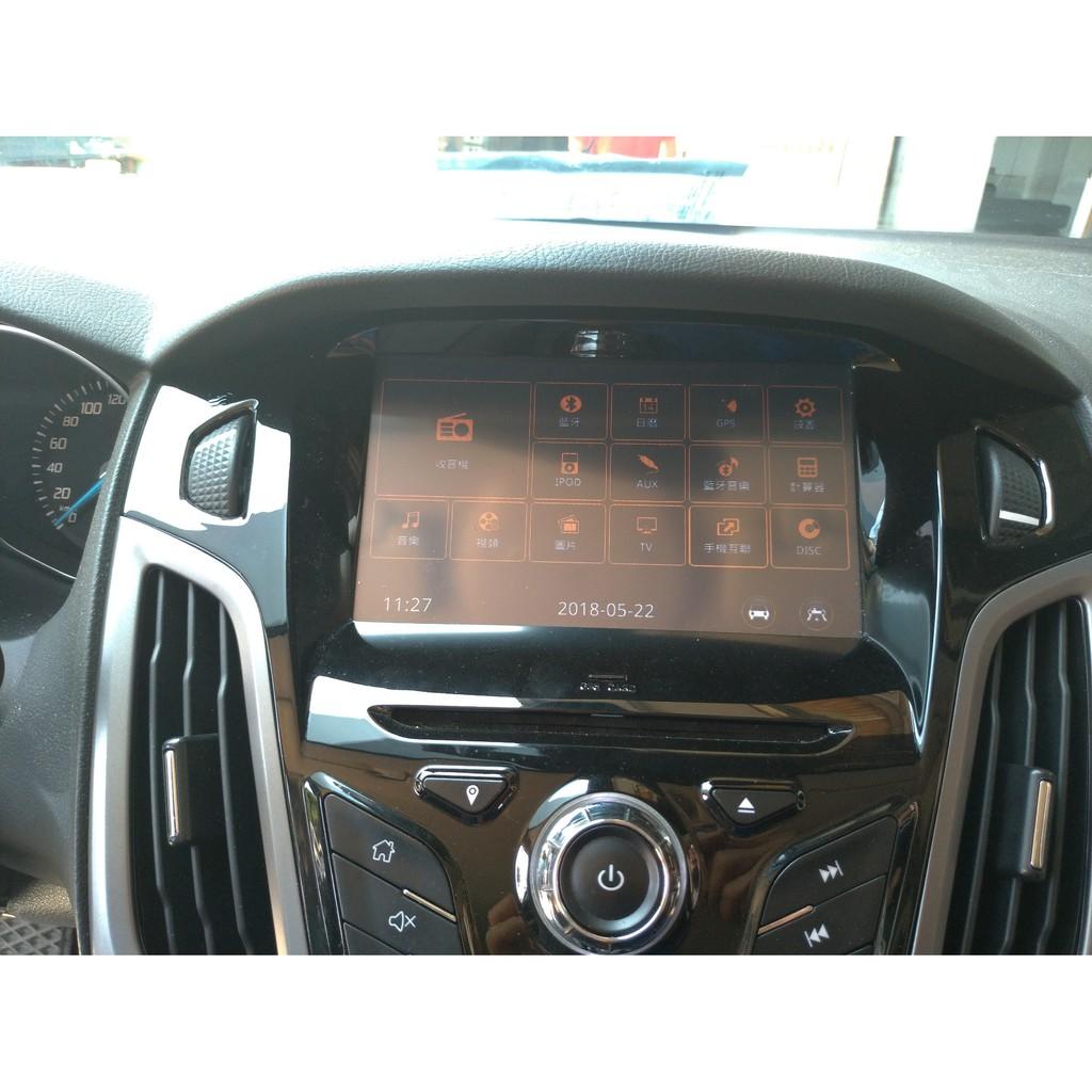 2013- Ford FOCUS Mk3 拆下 全車影音設備 音響 主機 螢幕 整組