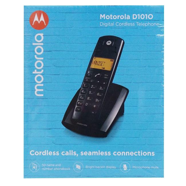 【含稅】Motorola摩托羅拉 公司貨附保固 DECT數位無線電話 D101O家用無線電話 室內電話