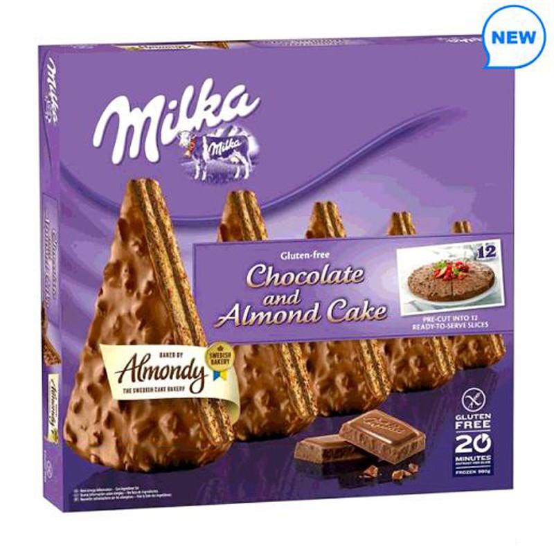 Almondy 冷凍牛奶巧克力蛋糕 980公克 W127846