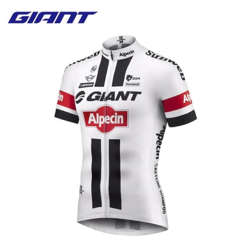 拜客先生-【GIANT】Alpecin TDF 特仕款 職業車隊複刻版短袖車衣 出清特價 XL
