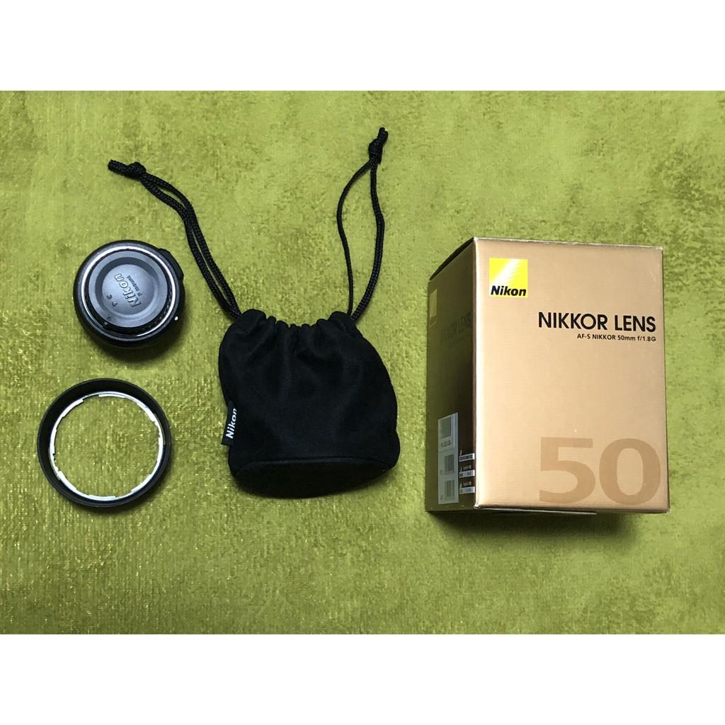 NIKON AF-S 50mm f1.8G 自動對焦 定焦鏡 人像鏡 50/1.8 G 送保護鏡 公司貨二手