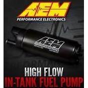 附發票 [極速電堂公司貨] 美國 AEM 340L 340 LPH 通用型 高流量 汽油幫浦 含配件包 韋伯 偉伯