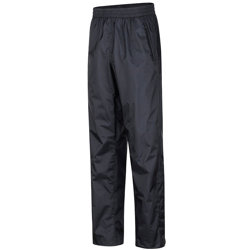 MarmotPreCip Eco NanoPro 男款 半開防水透氣雨褲41550-0001-BlackP173