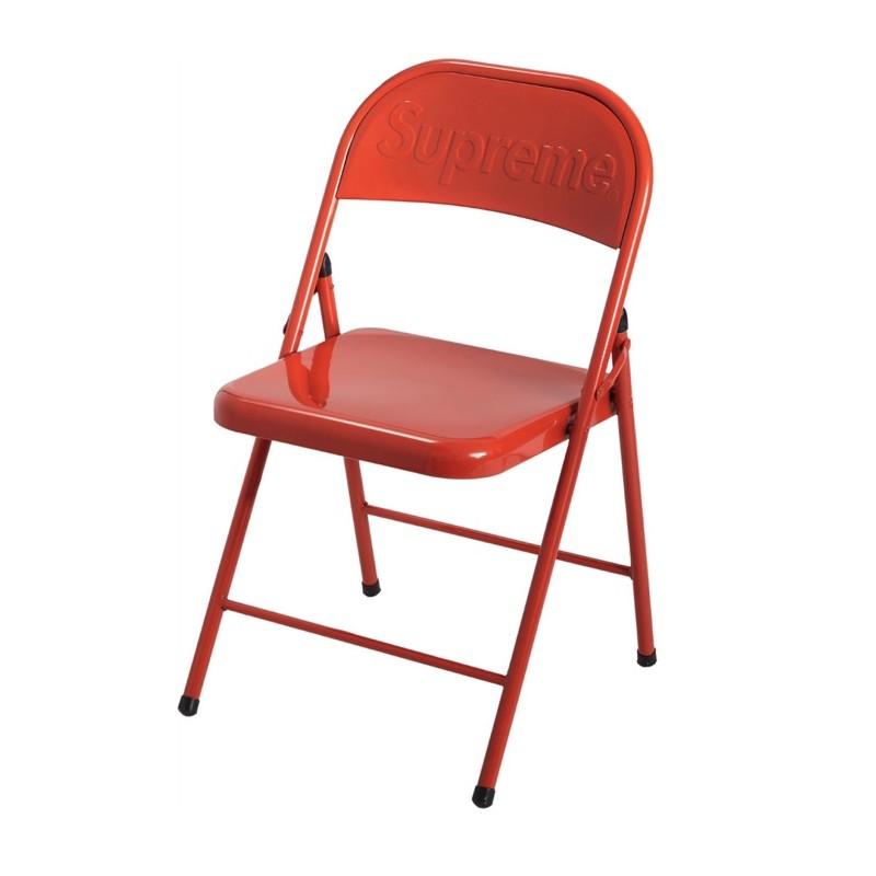 Supreme  鐵折疊紅椅 (新)