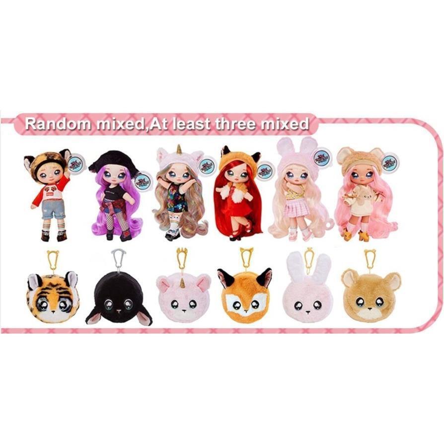 娜娜nanana驚喜娃娃lol盲盒正品泡泡瑪特芭比衣服公主盲盒玩具