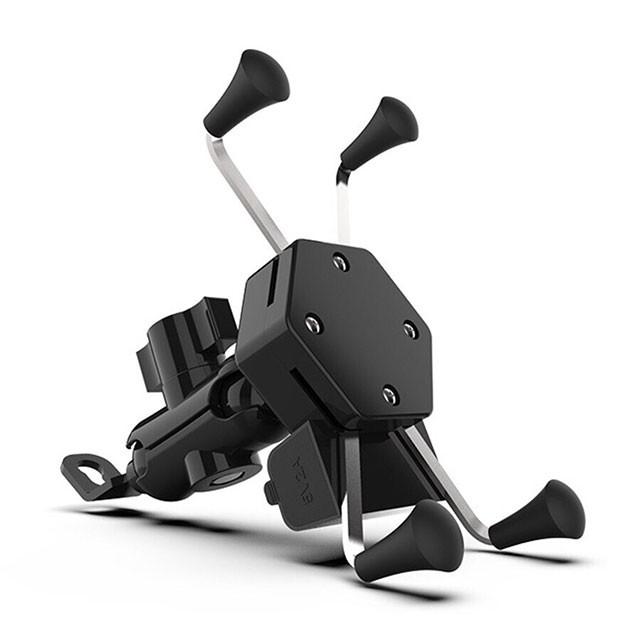 X型機車手機架 USB充電 摩托車手機架 機車手機架 導航手機架 手機架 手機支架 導航車架 外送神器