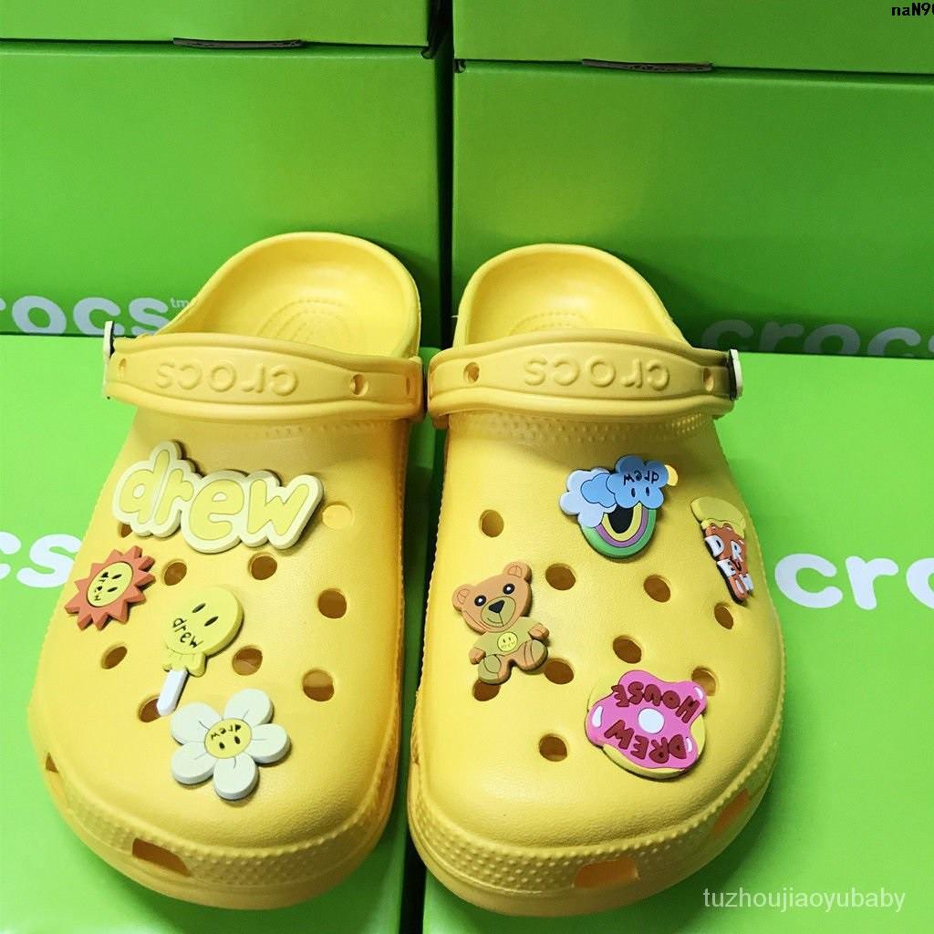 house 洞洞  休閒鞋Drew  男鞋拖鞋涼鞋  比伯同款 鞋女鞋︾