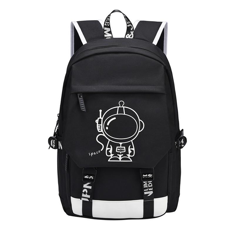 ■包子文具■中學生書包男初中生雙肩包女時尚潮流輕便小學生背包男兒童大容量