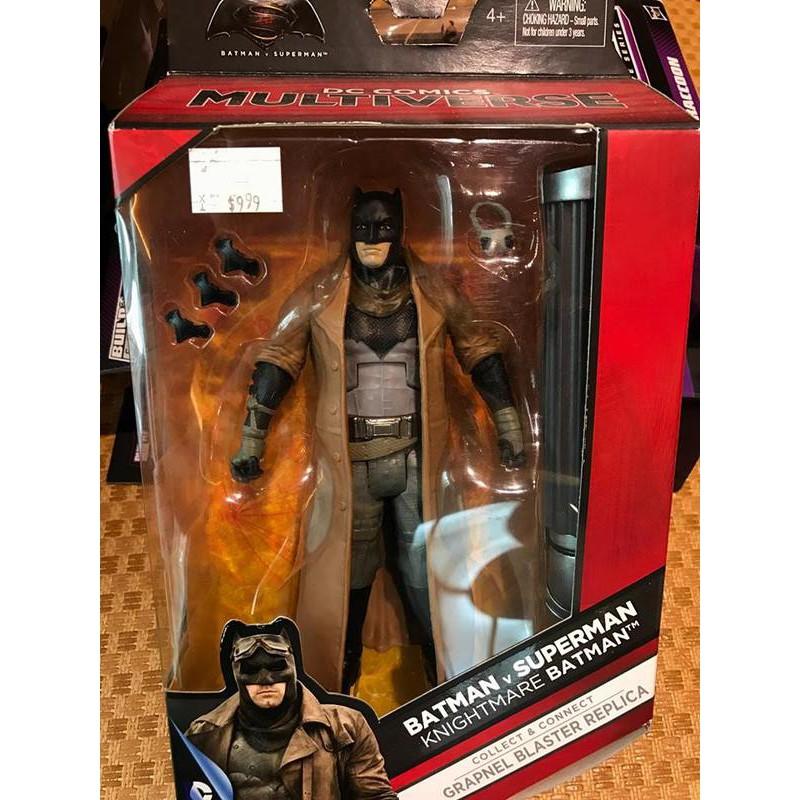 {克拉克玩具}DC 美版 Multiverse 6吋 惡夢蝙蝠俠 蝙蝠俠對超人:正義曙光 Batman Superman