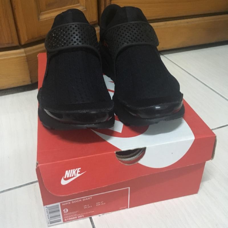 全黑 Nike sock dart US9