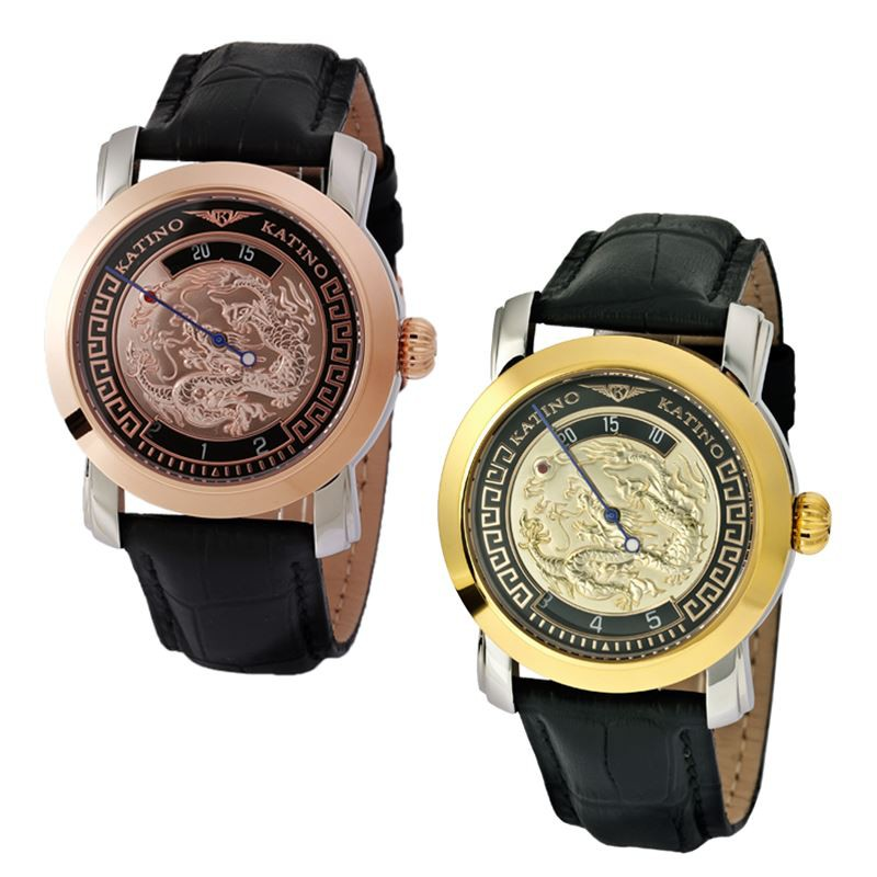 【KATINO】龍騰限量機械錶KR2012/KK2012