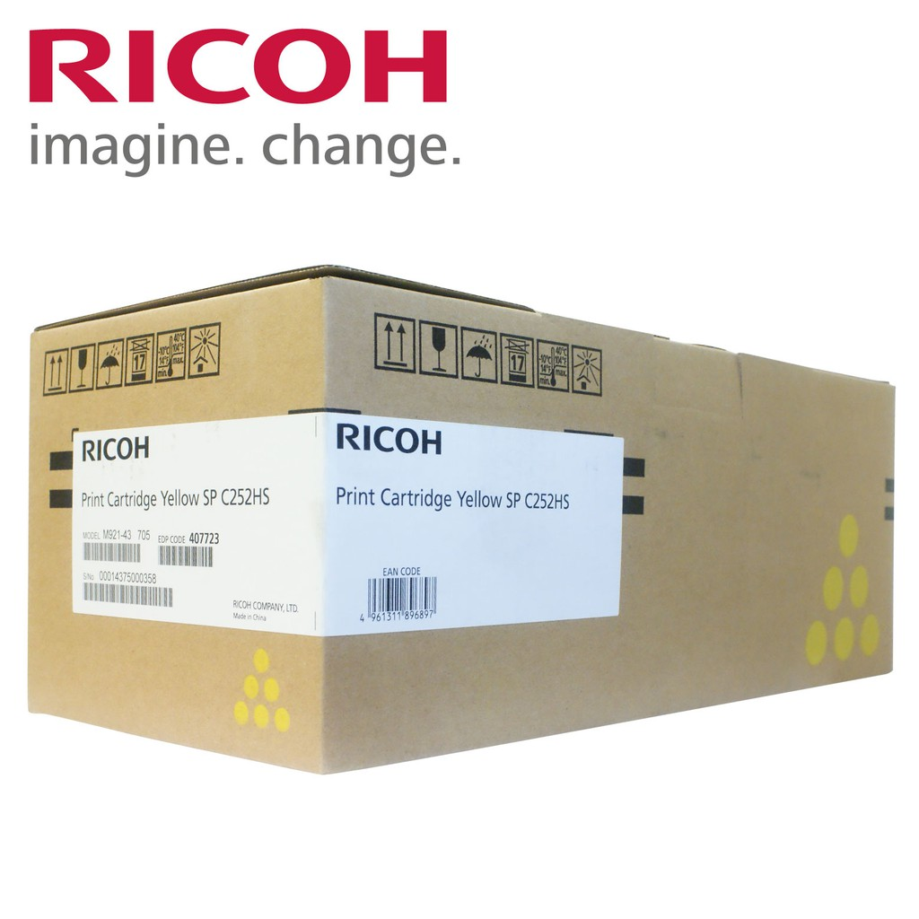 RICOH Print Cartridge Yellow SP C252HS 黃色碳粉匣